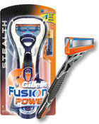 Gillette Fusion Power Stealth Rasierer