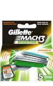 Gillette MACH3 Sensitive Power Ersatzklingen