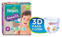 Pampers trockenste Windel