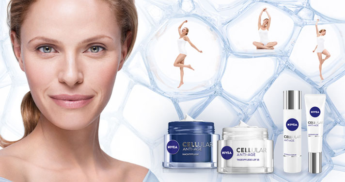NIVEA CELLULAR ANTI-AGE Pflegeserie