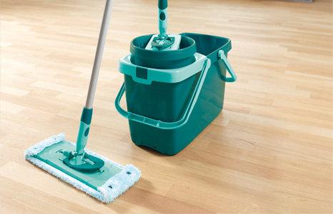 leifheit 52014 set clean twist system evo wischmop putzeimer bodenwischer eimer ebay. Black Bedroom Furniture Sets. Home Design Ideas