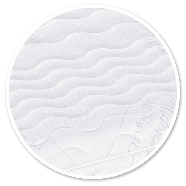80 x 200 cm Pyramidenk/önig 3cm Viscoelastische Matratzenauflage mit Bezug Milano H/ärte 2 Visco Auflage Topper Memory Matratze Gelschaum