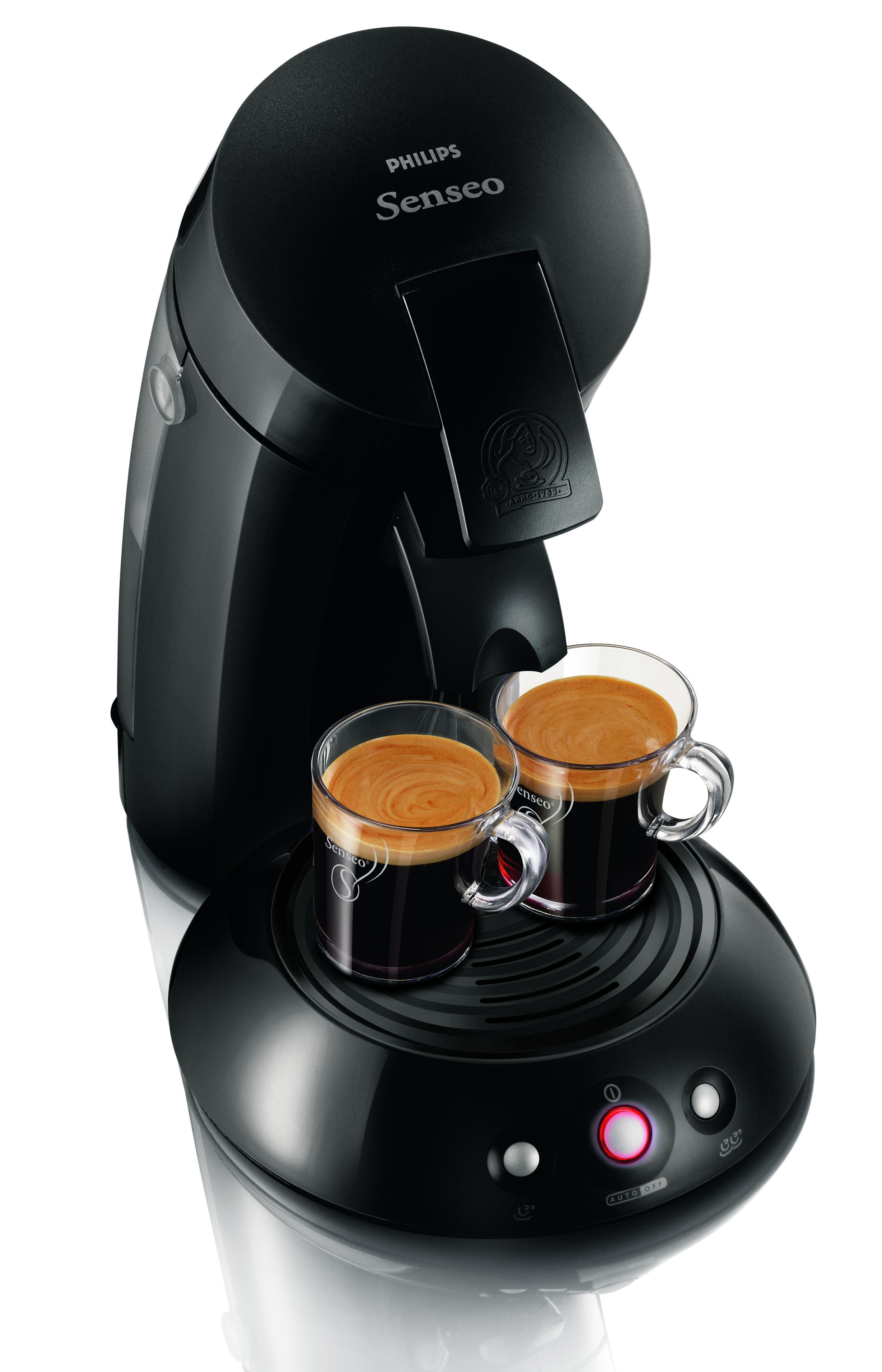 philips senseo hd 7810 60 kaffee padmaschine schwarz inkl 2 padhalter pads ebay. Black Bedroom Furniture Sets. Home Design Ideas