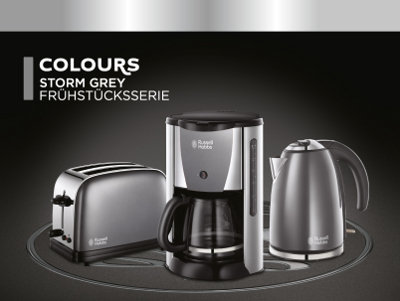 russell hobbs storm 19381 56 glas kaffeemaschine silber da268. Black Bedroom Furniture Sets. Home Design Ideas