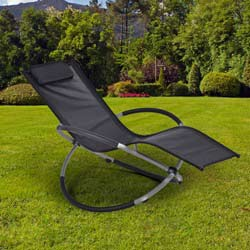 leco rocking chair schaukelstuhl relaxliege gartenliege. Black Bedroom Furniture Sets. Home Design Ideas