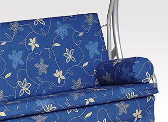 angerer trend hollywoodschaukel korfu blau 3 sitzer. Black Bedroom Furniture Sets. Home Design Ideas