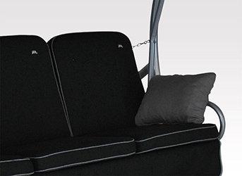 angerer primero style hollywoodschaukel style schwarz 3 sitzer dc75. Black Bedroom Furniture Sets. Home Design Ideas
