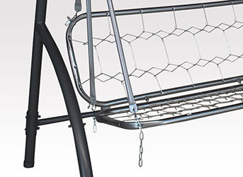 angerer club hollywoodschaukel uni terracotta 3 sitzer garten. Black Bedroom Furniture Sets. Home Design Ideas