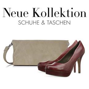 Neu eingetroffen: Herbst/Winter-Kollektion Schuhe & Taschen