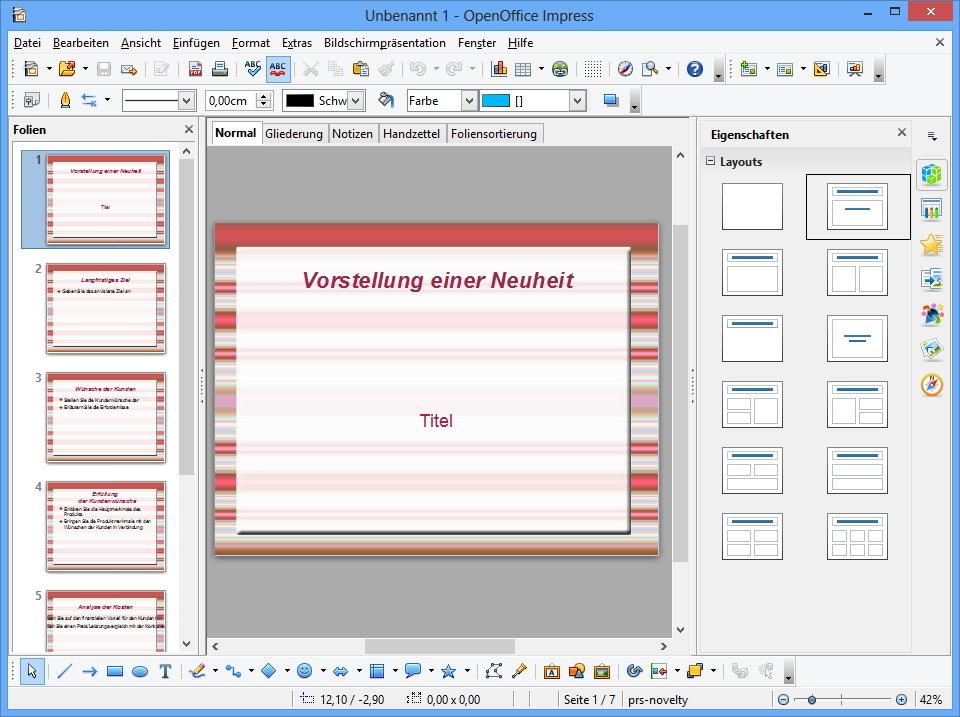 Open Office 4, Abbildung #06