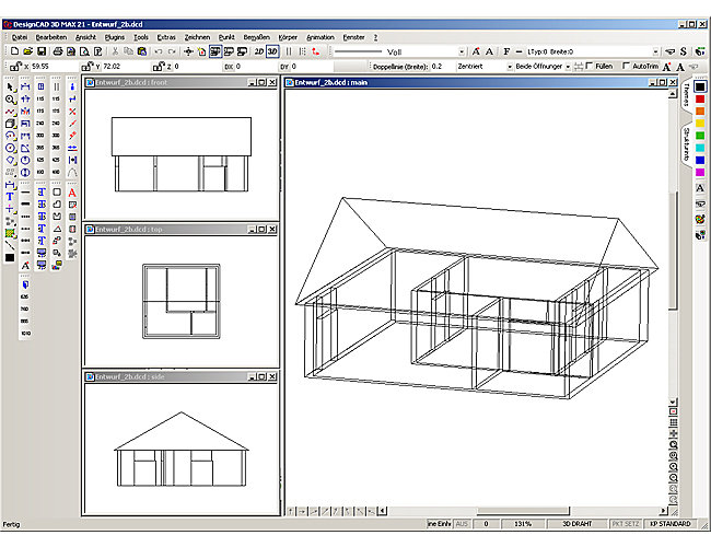 Franzis architekt 3d design cad max v21 professional imsi for Jugendzimmer 3d planen