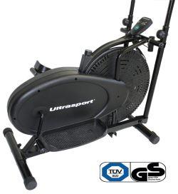 Ultrasport Basic X-Trainer 100 Crosstrainer/Ellipsentrainer inkl. Computer und Widerstandsregler – TÜV/GS geprüft - Zusatzbild