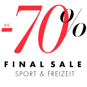 Final Sale Sport & Freizeit bis -70%