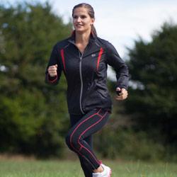 Ultrasport Damen Lauf- /Fahrrad- /Fitness- /Freizeitjacke Stretch Delight - Weitere Features