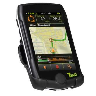 TEASI pro pulse & speed - Fahrrad- & Wandernavigation