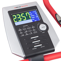 Ultrasport Racer 600 Heimtrainer mit Handpuls-Sensoren - Weitere Features