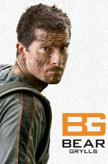 Bear Grylls iPhone 5, 5S  Schutzhülle - Action Case -  Burnt Orange