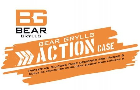 Bear Grylls iPhone 5, 5S  Schutzhülle - Action Case -  Burnt Orange Zusatzbild