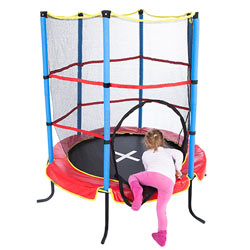 ultrasport indoortrampolin jumper 140 cm in le chable kaufen bei. Black Bedroom Furniture Sets. Home Design Ideas