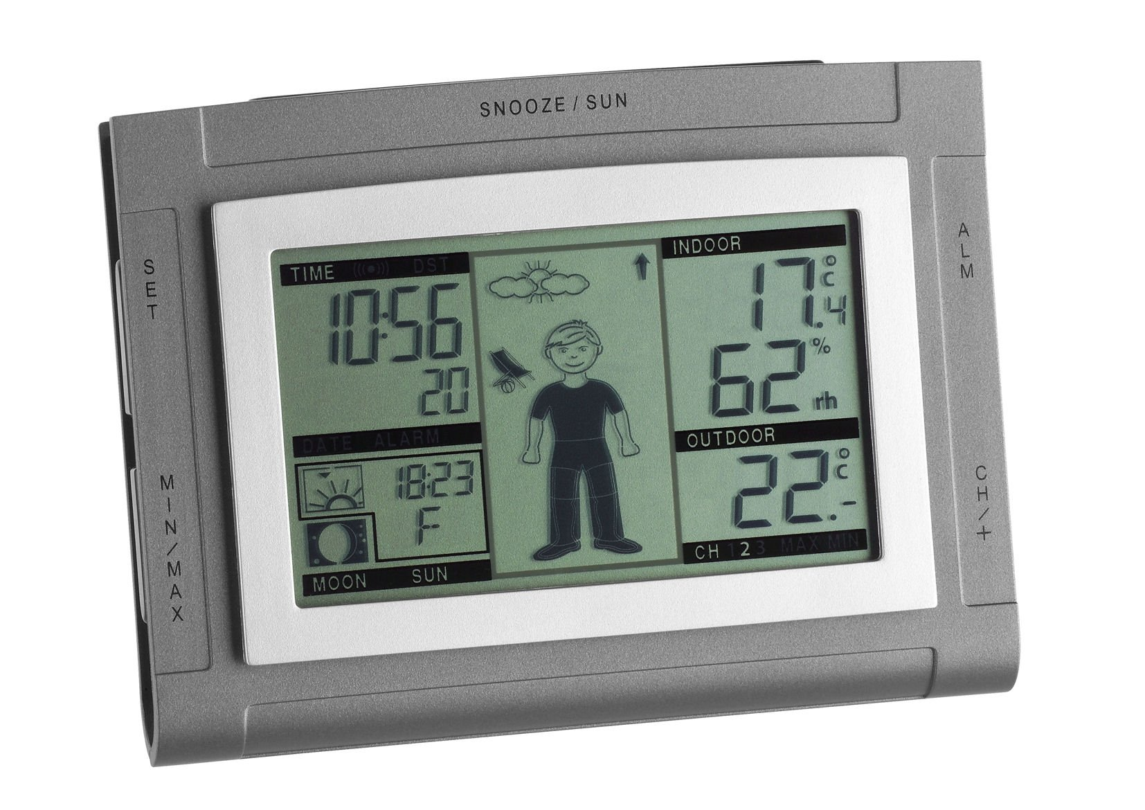 tfa dostmann elektronische wetterstation weatherboy xs 35. Black Bedroom Furniture Sets. Home Design Ideas