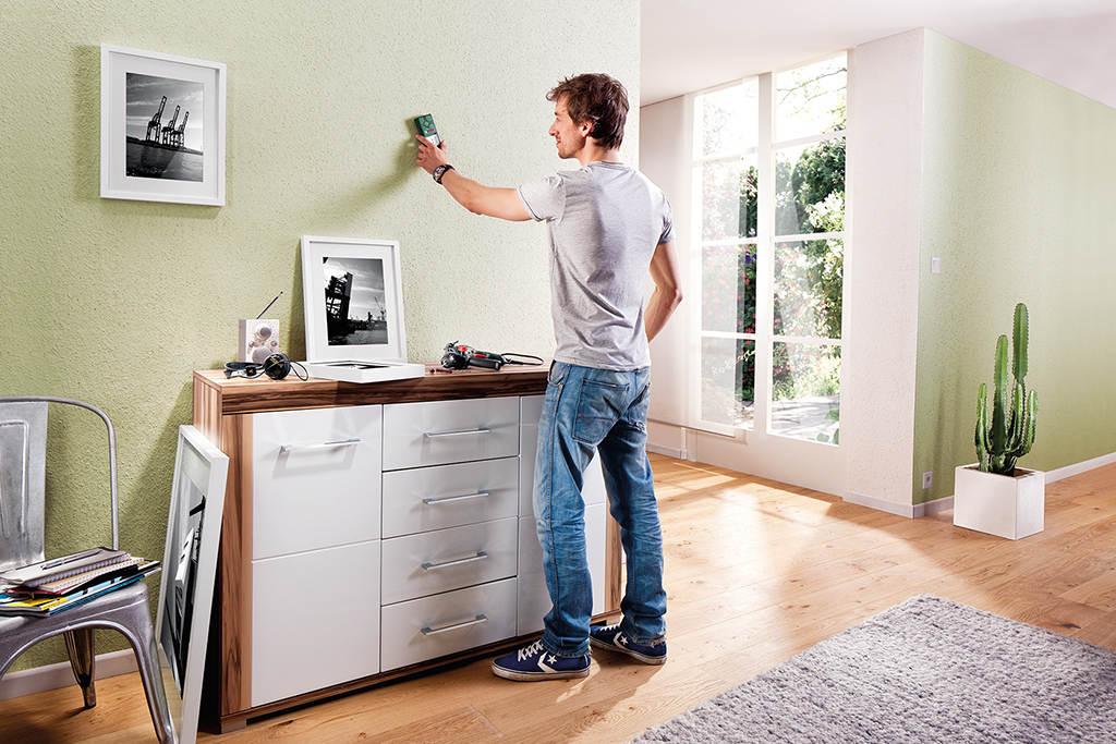 ortung von metallen und elektrischen leitungen. Black Bedroom Furniture Sets. Home Design Ideas