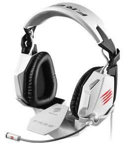 Mad Catz F.R.E.Q. 7 Surround-Sound-Gaming-Headset für PC