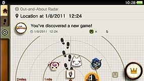 Treffe mit near auf Spieler in deiner Nähe, sieh dir an, was aktuell gespielt wird und tausche Inhalte aus.