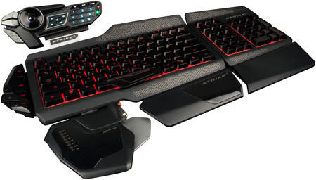 Mad Catz S.T.R.I.K.E. 5 Gaming Keyboard für PC