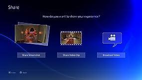 Dank der Share-Taste können Sie in null Komma nichts Bilder und Videos von spektakulären Gaming-Erlebnissen auf Facebook hochladen und diese mit Ihren Freunden teilen.
