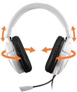 Stereo-Spiele-Headset TRITTON AX 180 – Konzipiert für maximalen Komfort