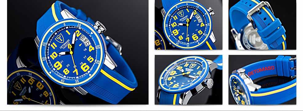 DETOMASO Herren-Armbanduhr Analog Quarz DT2034-B: Amazon.de: Uhren