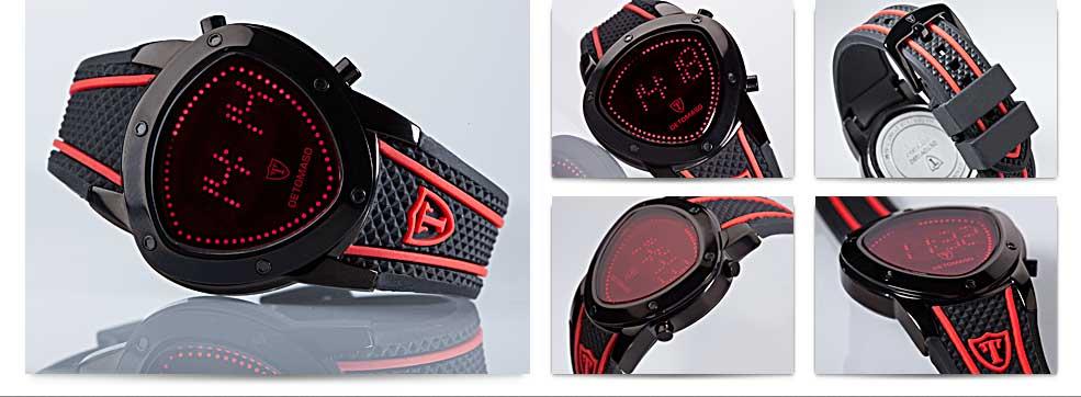 DETOMASO Herren-Armbanduhr Compasso Digital Quarz DT2032-E: Amazon ...