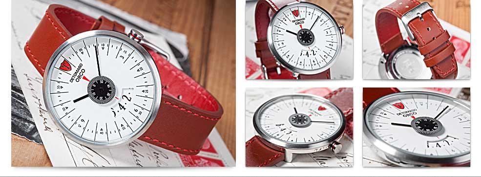 DETOMASO Herren-Armbanduhr Analog Quarz DT2040-A: Amazon.de: Uhren