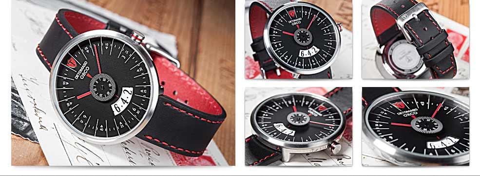 DETOMASO Herren-Armbanduhr Analog Quarz DT2040-C: Amazon.de: Uhren