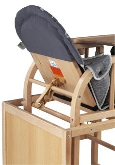 storchenm hle happy baby ii hochstuhl farbe buche ab ca 6 monaten. Black Bedroom Furniture Sets. Home Design Ideas