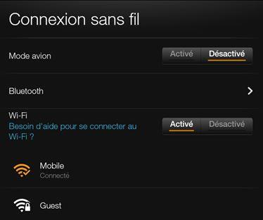 Amazon.fr Aide: Modifier Les Paramètres De Votre Kindle Fire