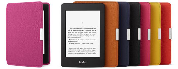 Étuis de couleur pour Kindle Paperwhite