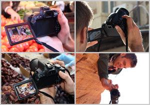 Réalisez vos photos et vos vidéos en explorant de nouveaux angles intéressants