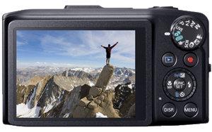 Cadrez, visionnez et partagez vos vidéos sur l'écran LCD 7,5cm (3pouces