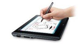 Tablette / ordinateur portable avec stylet