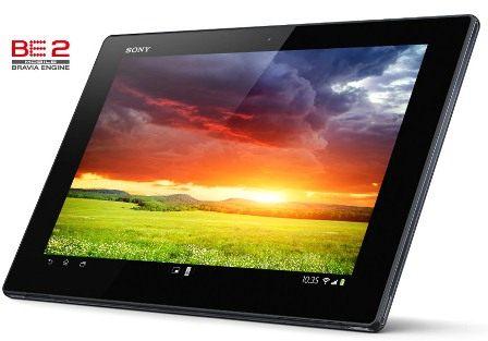 Xperia™ Tablet Z avec un écran HD au contraste impressionant.