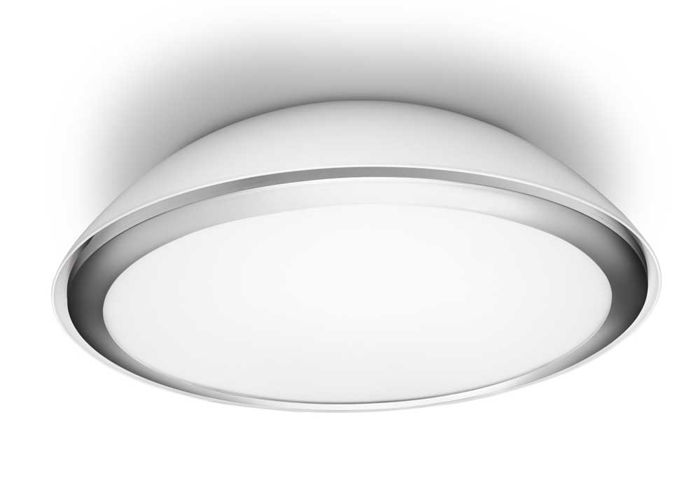 Philips 320633116 plafonnier led cool eclairage salle de for Plafonnier design salle de bain