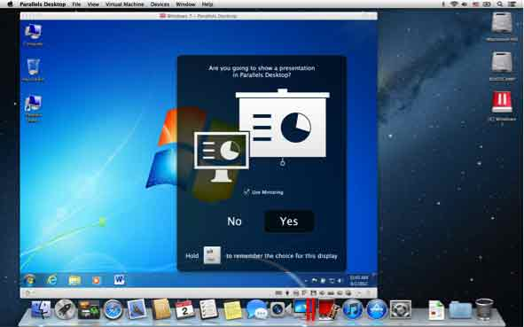 Parallels Desktop 8 Switch to Mac Edition - Presentation Wizard