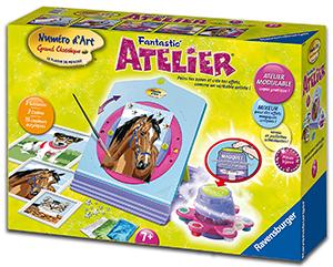 Ravensburger 28535 loisir cr atif fantastic 39 atelier for Peinture boiro jeu deffet paillettes