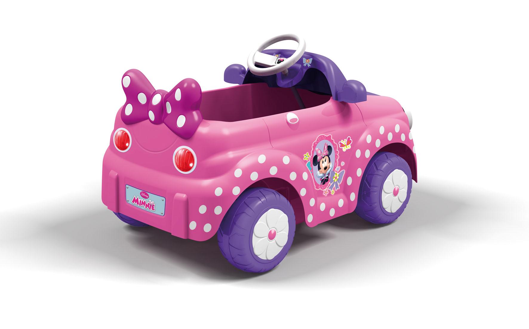 feber 800008603 v hicule pour enfant voiture minnie. Black Bedroom Furniture Sets. Home Design Ideas