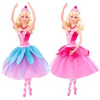 Barbie x8810 x8810 poup e kristyn ballerine magique jeux magique jeux et jouets m169 - Barbi danseuse etoile ...