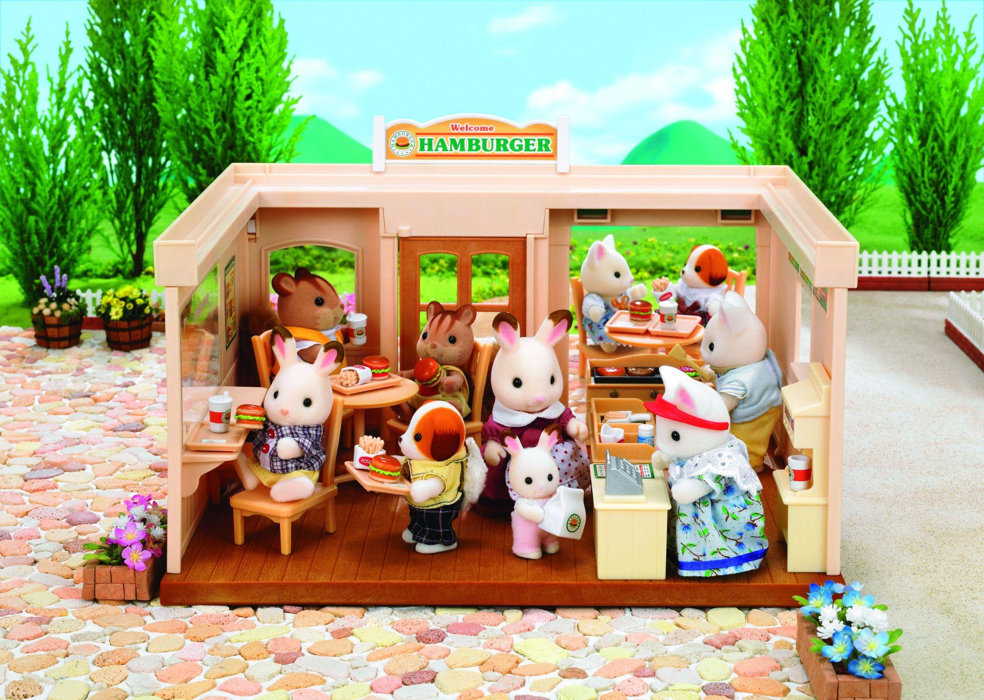 Sylvanian families 2807 poup es et accessoires fast for Sylvanian families cuisine