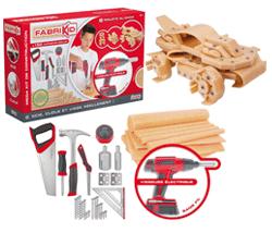 Lansay 18633 fabrikid maxi kit de construction - Construire des jouets en bois gratuit ...