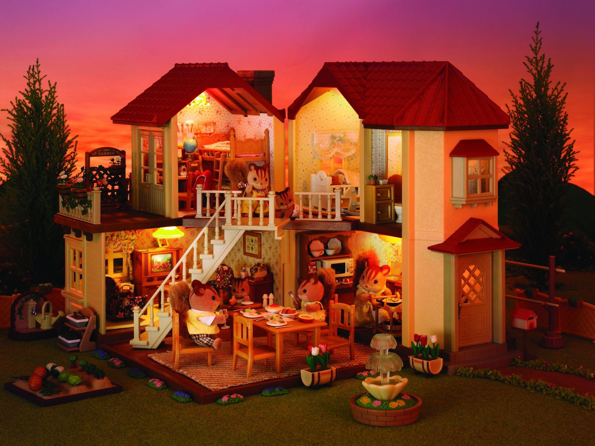 Sylvanian families 2752 poup es et accessoires for Maison design et tradition