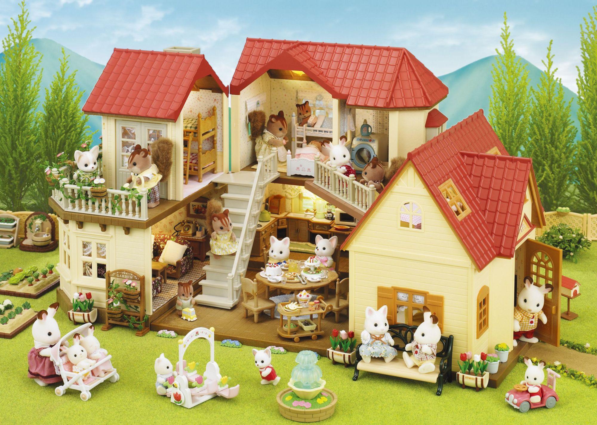 Sylvanian families 2752 poup es et accessoires for Meuble maison de famille